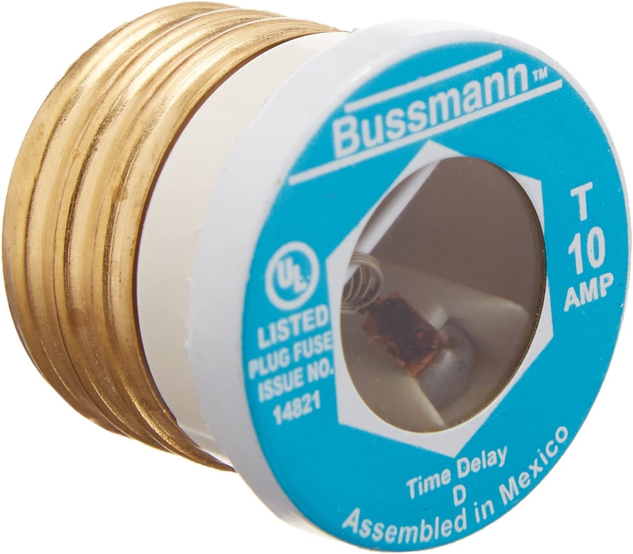 Cooper Virginia Beach Mall Bussmann BP T-10 Type T Online limited product Time Fuse Plug Delay Fusetron
