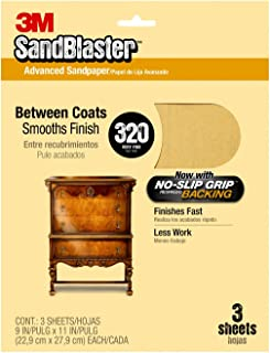 Best 320 grit sandpaper 3m Reviews