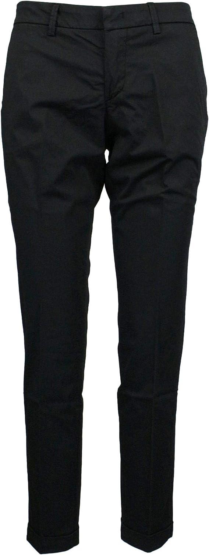 FAY Women's NTW8038528TGUPB999 Black Cotton Pants