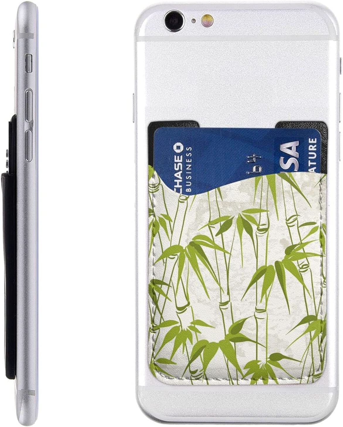 Popular products Green Bamboo Nature Plant Phone On Stick Card Cell All stores are sold Holder