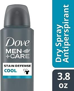 Dove Men+Care Stain Defense Cool Dry Spray Antiperspirant Deodorant, 3.8 Ounce