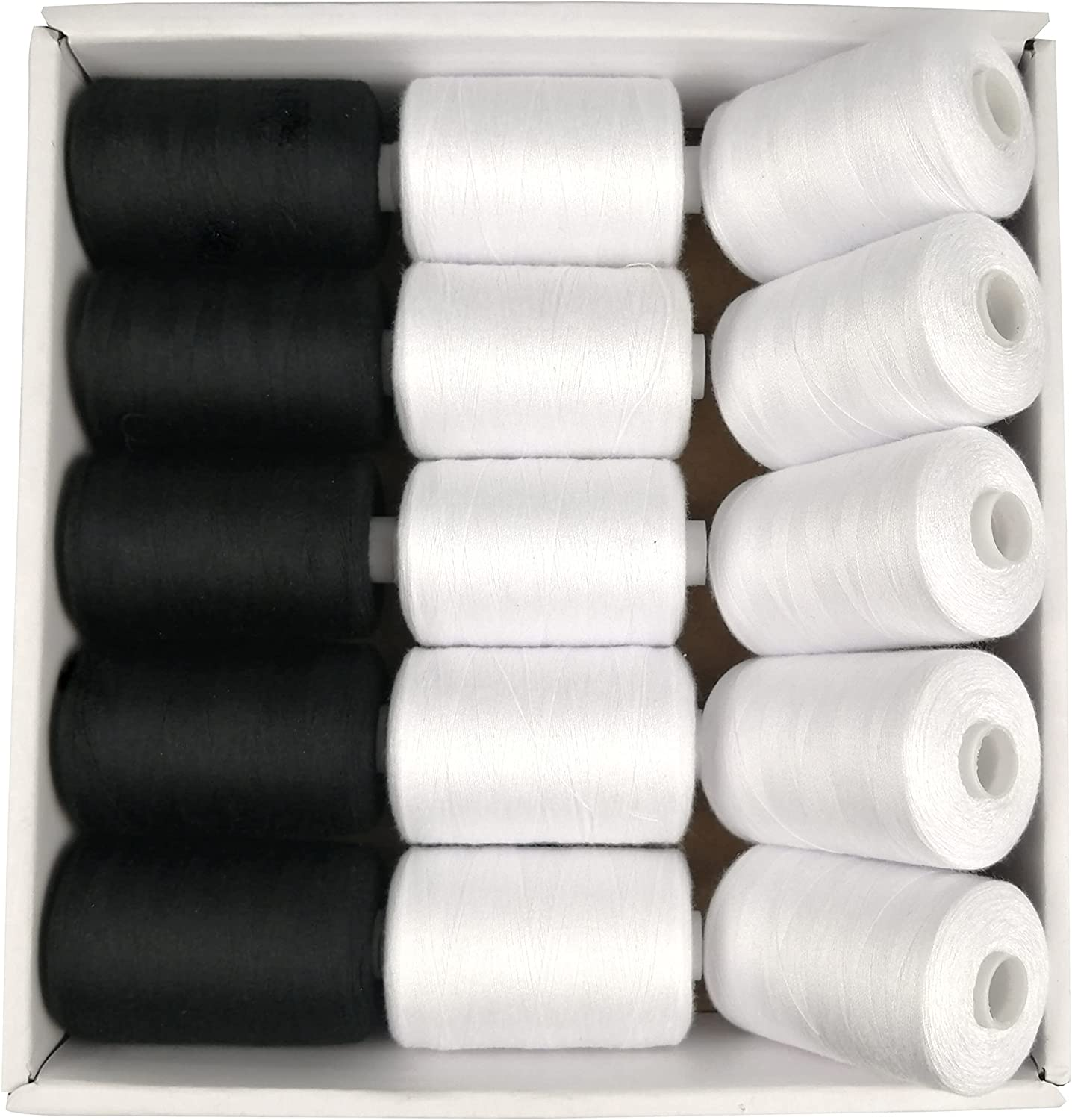 Moon Waves Sewing Machine Thread Clearance SALE! Limited time! 15 Sets 2 Polyester Denver Mall Colors 40S