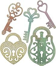 Cheery Lynn Designs Die Set Whimsical Lock and Key
