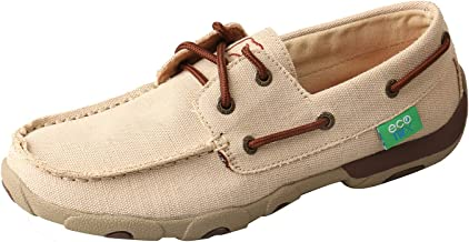 Twisted X Women's ECO TWX Driving Moccasins - Dust