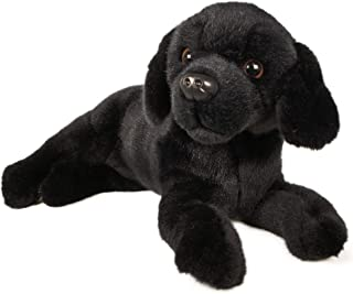 VIAHART Blythe The Black Lab | 12 Inch Stuffed Animal Plush | by Tiger Tale Toys