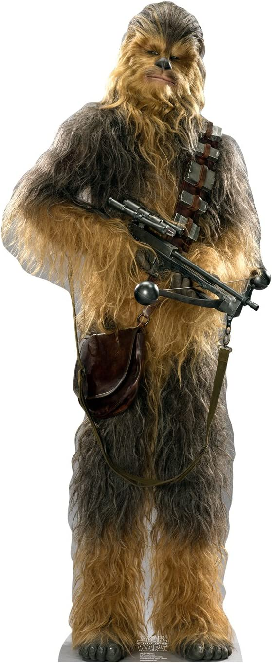 Cardboard People Chewbacca Life Size Free shipping anywhere in the nation - mart Cutout Standup