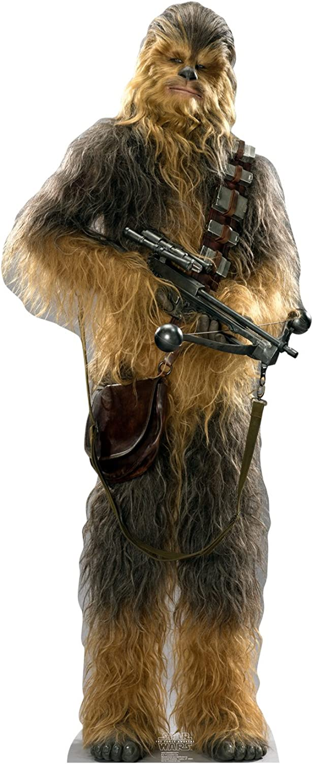 Advanced Graphics Chewbacca Life Size Cardboard Cutout Standup - Star Wars Episode VII  The Force Awakens