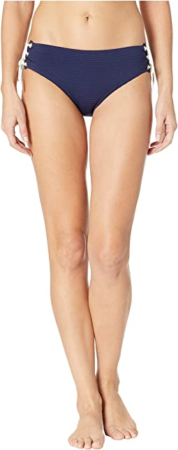 Carlisle Bay Tie Side High-Waisted Bottoms