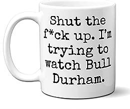 Bull Durham Gift Mug. Funny Parody Movie Lover Fan