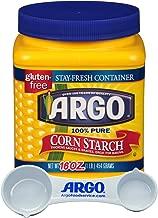 Argo Cornstarch Powder Bulk 16 Ounce Resealable - with Argo Measuring Scoop