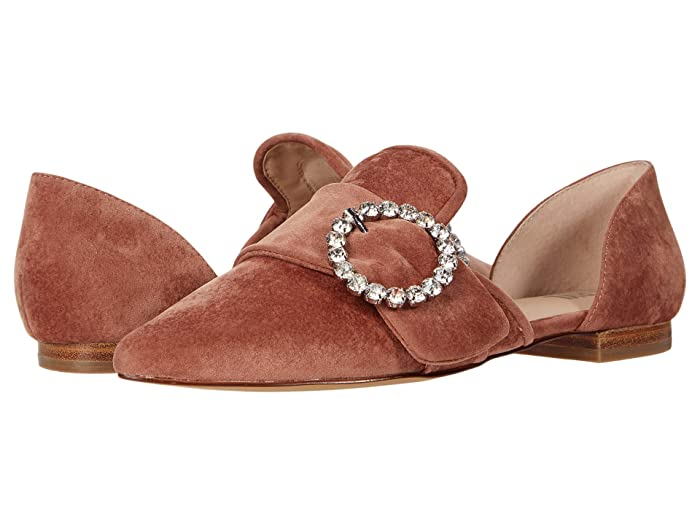 FARYL by Farylrobin Lorna (Blush Velvet) Women's Shoes