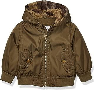 Baby Boys' Fleece Lined Bomber Jacket