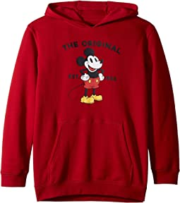 Mickey's 90th Classic Pullover Fleece (Big Kids)