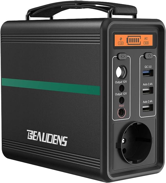 46 opinioni per BEAUDENS Generatore Solare Portatile 166Wh/52000mAh, Batteria al