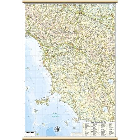 Toscana Cartina Geografica Politica.Carta Geografica Murale Regionale Toscana 100x140 Bifacciale Fisica E Politica Amazon It Cancelleria E Prodotti Per Ufficio