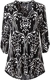 ✦HebeTop✦ Women's Casual Hoodies Long Sleeve Sweatshirts Cowl Neck Drawstring Hooded Pullover Top