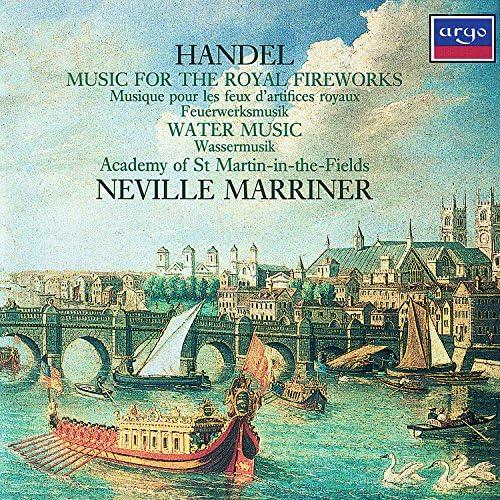 Academy of St. Martin in the Fields, Colin Tilney, Sir Neville Marriner & George Frideric Handel
