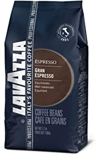 Lavazza Gran Espresso Whole Bean Coffee Blend, Espresso Roast, 2.2-Pound Bag