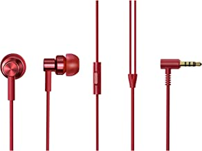 Xiaomi Redmi Hi-Resolution Audio Wired in The Ear Headphone with Mic (Red)