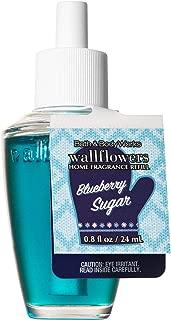 Bath and Body Works BLUEBERRY SUGAR Wallflowers Home Fragrance Refill 0.8 Fluid Ounce (2018 Holiday Edition)