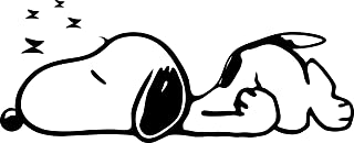 Best snoopy sleeping is an art Reviews