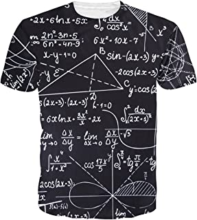 Belovecol Unisex Cool Novelty 3D Graphic Print T-Shirts Summer Short Sleeve Crewneck Tees Casual Tops