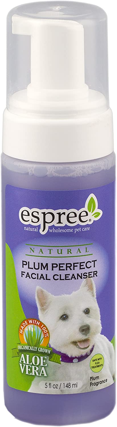 Espree Dog and Cat Plum Perfect Facial Cleanser, 5Ounce
