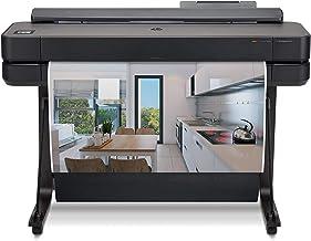 "HP DesignJet T650 Large Format Wireless Plotter Printer - 36"", with Modern Office Design (5HB10A)"
