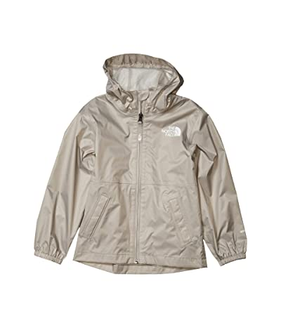 The North Face Kids Zipline Rain Jacket (Little Kids/Big Kids) (Dove Grey) Girl