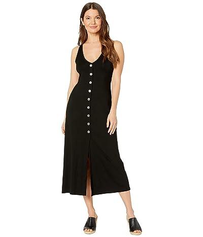 Karen Kane Button-Up Alana Dress (Black) Women