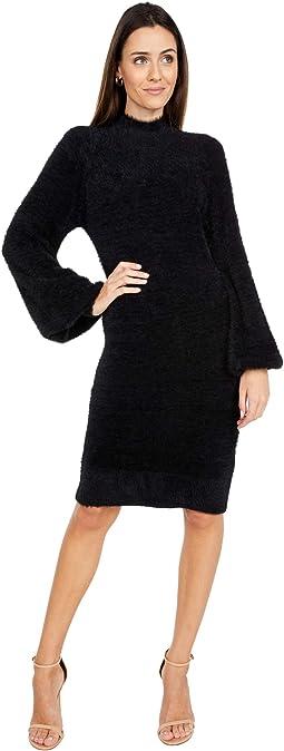 Bell Sleeve Dress Knit
