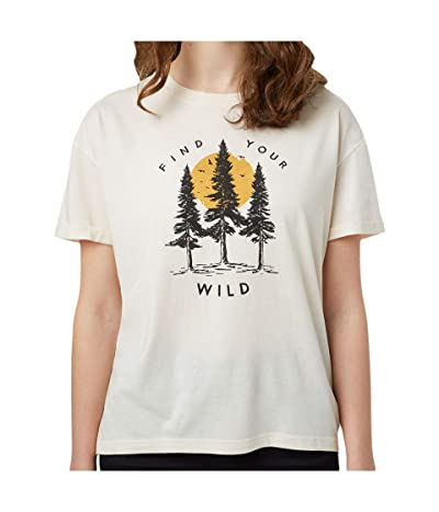 tentree Your Wild Relaxed T-Shirt (Elm White Heather) Women
