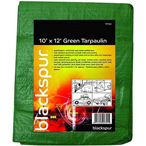 Hamble Blackspur 10' X 12' Tarpaulin Green
