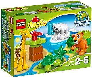 """レゴ (LEGO) デュプロ 世界のどうぶつ""""どうぶつのあかちゃん"""" 10801"""
