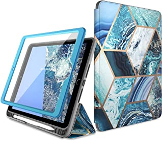 i-Blason Cosmo Case for New iPad 8th/7th Generation, iPad 10.2 2020 2019 Case, Full-Body Trifold with Built-in Screen Prot...