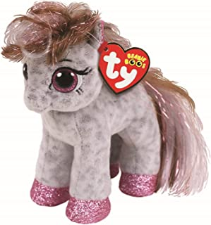 Ty Beanie Babies 36667 Boos Cinnamon The Spotted Pony Boo (Blue Funchop with Purchase)