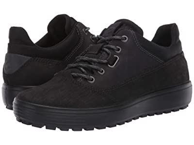 ECCO Sport Soft 7 Tred Terrain Hydromax Low (Black/Black) Men