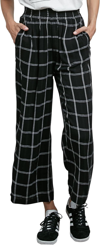Volcom Women's Jumponit Cropped Wide Leg Trouser Pant