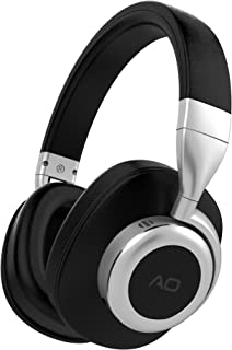 AO Bluetooth Headphones Wireless with Active Noise Cancelling Technology (Updated) - M6 (Black)