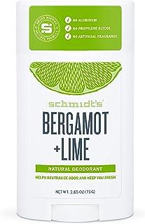 Schmidt's - Desodorante Natural en Barra Bergamota y Lima