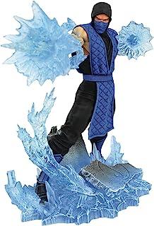 DIAMOND SELECT TOYS Mortal Kombat Gallery: Sub-Zero PVC Figure,Multicolor,9 inches