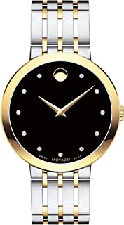 Esperanza, Yellow Stainless Steel Case, Black Dial, Stainless Steel Bracelet, Men, 0607191