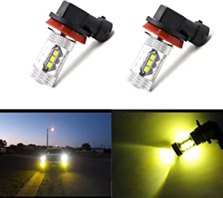 H16 type 2 H11 H8 H11LL H8LL Fog Light Bulbs LED H11...