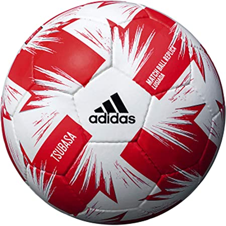 adidas(アディダス) サッカーボール ツバサ Jリーグ ルヴァンカップ レプリカ ホワイト×レッド 5号 一般・大学・高校・中学生用 検定球 AF512LC