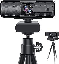 webカメラ Xproject ウェブカメラ AIフォーカス フルHD 1080P ウェブカム 高画質パソコンカメラ マイク内蔵 skype会議用PCカメラ 96°広角 4層光学レンズ 折り畳み式 360°調整 プラグアンドプレイ 三脚付属 W...