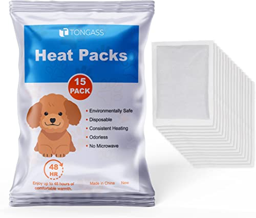 2021 Tongass 15-Pack Disposable Heat Packs outlet online sale Replacements for Snuggle Puppy SmartPetLove, outlet sale Lasting 48 Hours online sale
