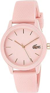 Lacoste Womens Quartz Wrist Watch, Analog and Silicone- 2001065
