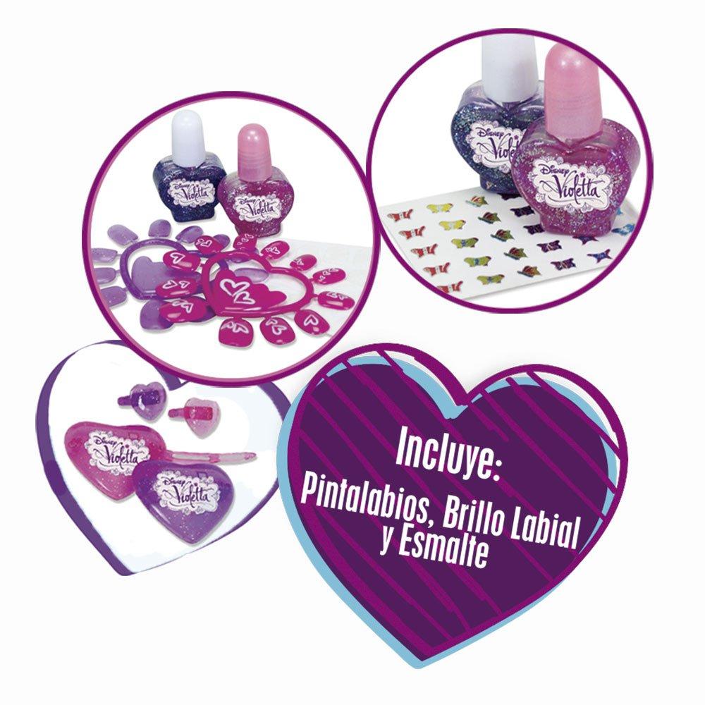 Violetta - Kit de maquillaje, multicolor (Simba 5561239): Amazon.es: Juguetes y juegos
