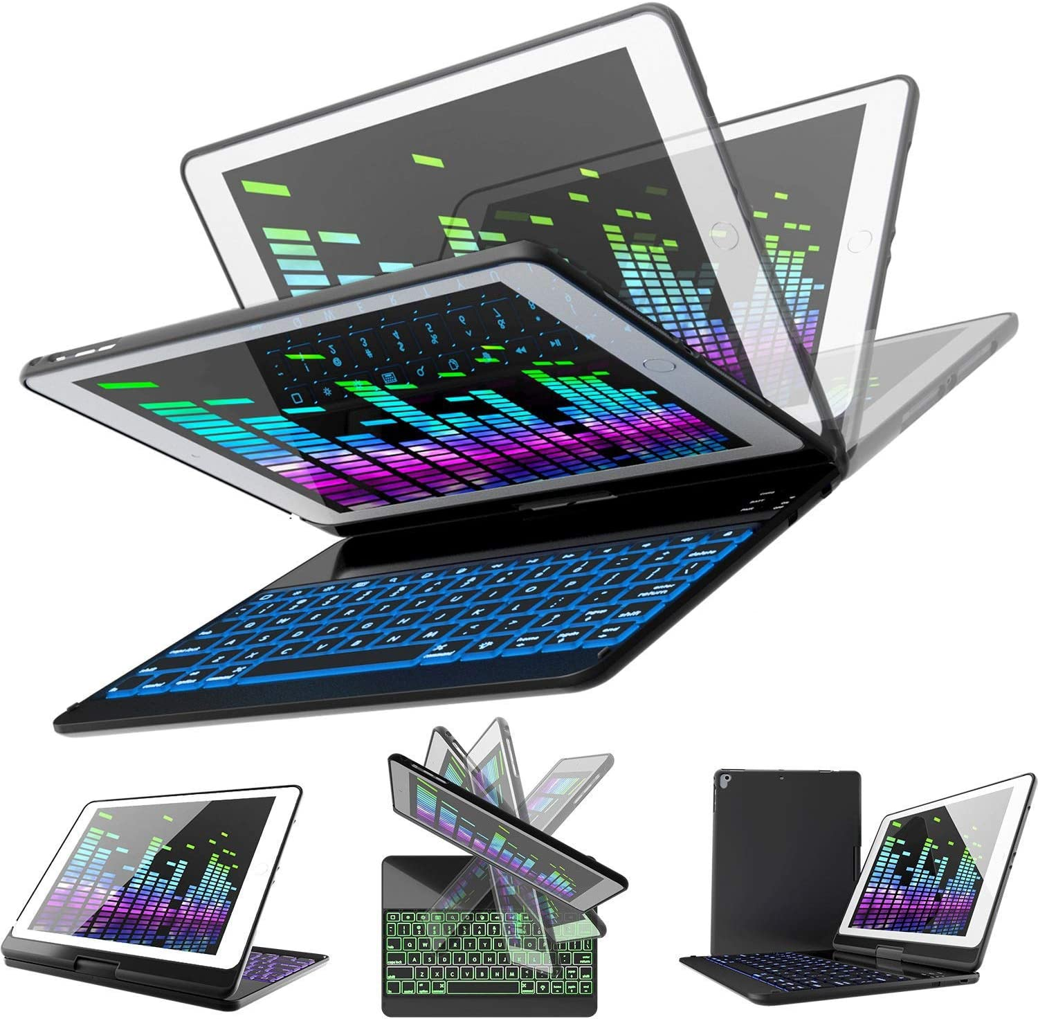 iPad Keyboard Case for 2018 High material 2017 Gen Max 80% OFF 6th 5th -
