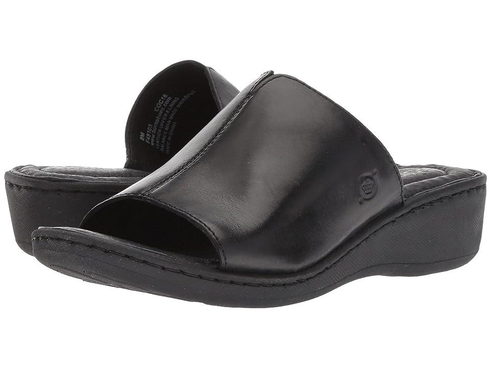 Born Bernt (Black Full Grain Leather) Women